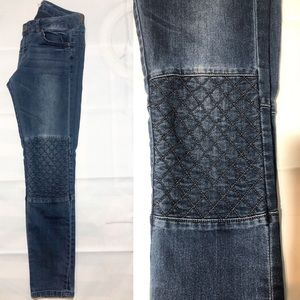 Life in Progress Quilted Jeans Stretch Size 28